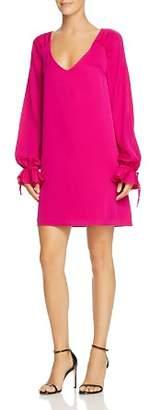 Milly Dana Poet-Sleeve Dress
