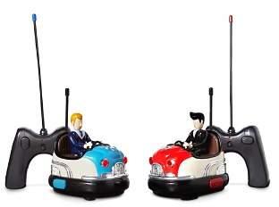 FAO Schwarz Remote Control Bumper Car Toy Set - Ages 6+