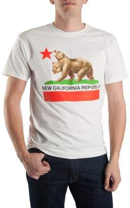 "Fallout: New California Fallout Men's ""New California Republuc"" Short Sleeve Graphic T-Shirt, up to Size 2XL"