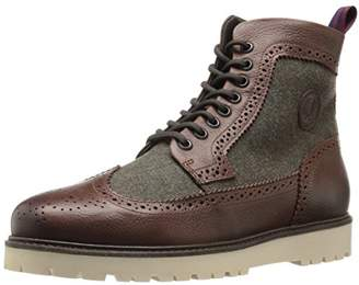 Fred Perry Men's Norhgate Boot Leather/Wool Chelsea