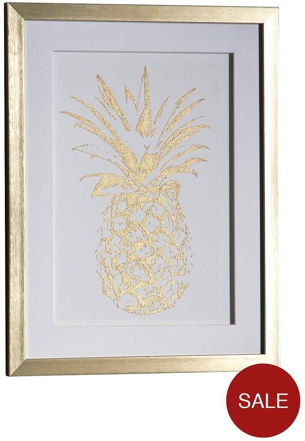 Pineapple Framed Wall Art