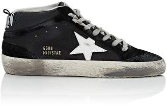 Golden Goose Women's Mid Star Leather & Suede Sneakers