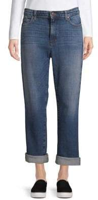 Eileen Fisher High-Waist Bootcut Jeans