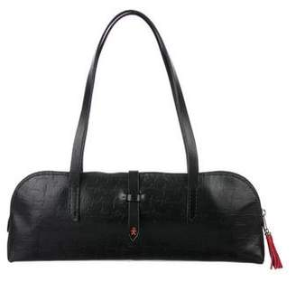 Henry Beguelin Leather Long Mini Tote