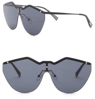 Le Specs Noir De Vie 145mm Single Lens Sunglasses