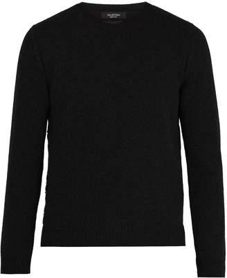 Valentino Rockstud-embellished cashmere sweater