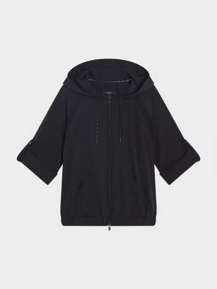 DKNY Roll Cuff Jacket With Mesh