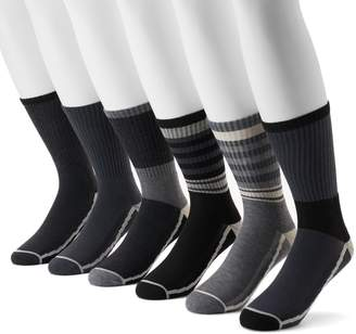 Levi's Levis Men's 6-pack Athletic Crew Socks