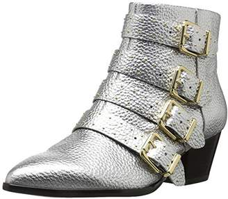The Fix Women's Hazel 4-Buckle Strap Ankle Boot