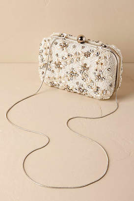 Anthropologie Doris Beaded Clutch