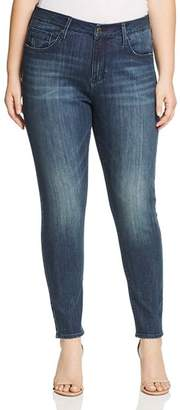 Seven7 Jeans Plus Skinny Jeans in Crush Blue