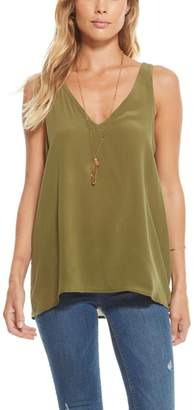 Chaser Silk Double-V Tank