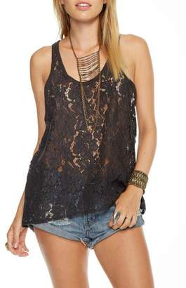 Chaser Lace T-Back Tank