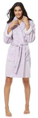 F&F Marl Breakfast Club Slogan Dressing Gown