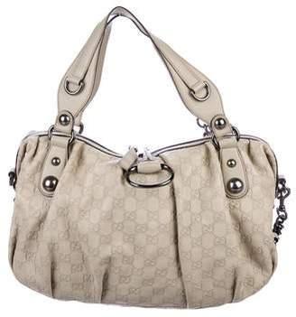 3abe47c3afa4 Gucci Guccissima Icon Bit Medium Boston Bag