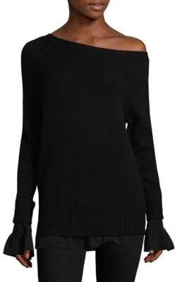 Brochu Walker Flores Layered Mélange Sweater