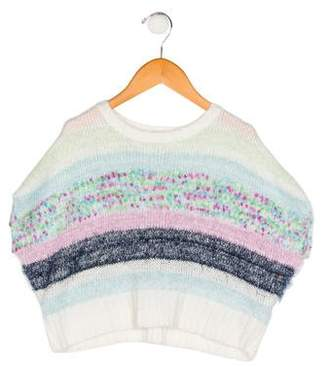 Splendid Girls' Patterned Knit Sweater