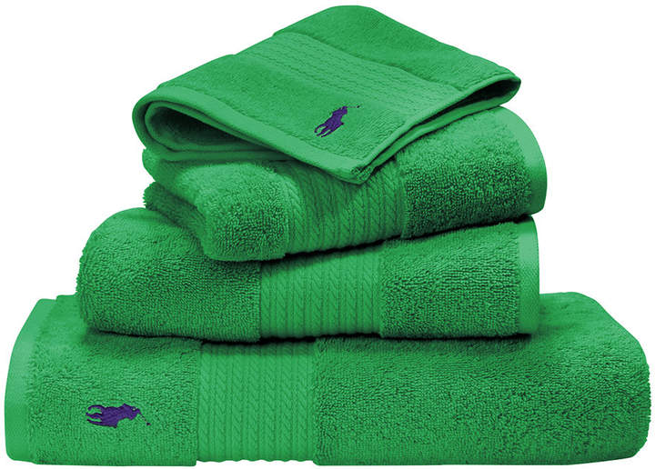 Player Towel - Medium Green - Bath Towel