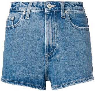 Chiara Ferragni wink eye denim shorts