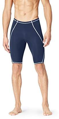 Trunks FIND Men's Swim Shorts Piping Detail and Contrast Stitching,Large (Manufacturer size: )