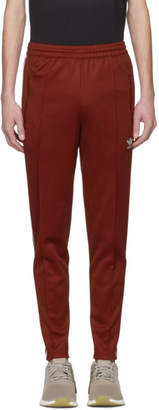 adidas Red Franz Beckenbauer Track Pants