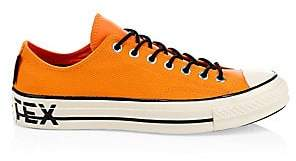Converse Men's Gore-Tex Chuck 70 Low-Top Leather Sneakers