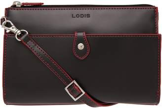 Lodis Los Angeles Audrey Under Lock & Key Vicky Convertible Leather Crossbody Bag