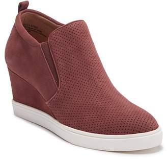Caslon R) Aiden Suede Wedge Sneaker