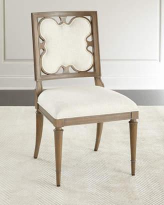 Ambella Linen Clover Side Chair