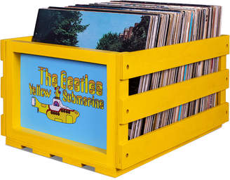 Crosley Record Storage Crate The Beatles Yellow Submarine