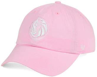 '47 Women's Dallas Mavericks Petal Pink Clean Up Cap
