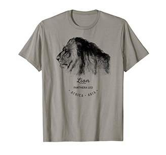 Lion Mane Vintage Prints Birthday Christmas Gift T-Shirts