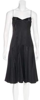 Chloé Sleeveless Flounce Dress