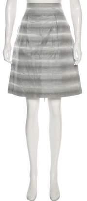 Peter Som Printed Knee-Length Skirt