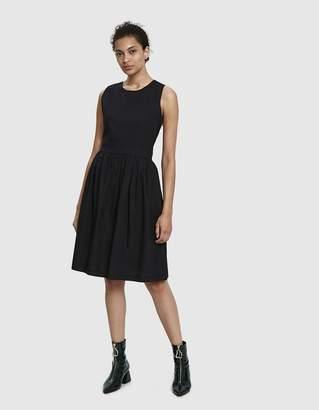 ara Stelen Cross-Back Poplin Dress