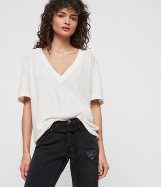 AllSaints Saro Stripe T-Shirt