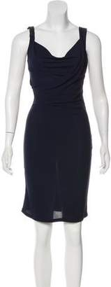 Jay Godfrey Sleeveless Midi Dress
