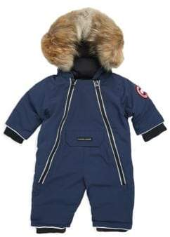 Canada Goose Baby's Down-Filled and Fur-Trimmed Snowsuit