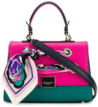 Free Shipping At Farfetch Emilio Pucci Florence Colour Block Tote
