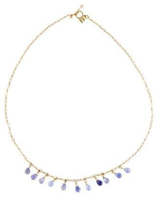 Temple St. Clair 18K Karina Iolite Charm Necklace