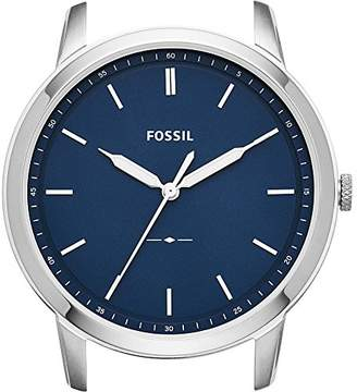 Fossil Men's 'The Minimalist' Quartz Stainless Steel Casual WatchMulti Color (Model: C221039)