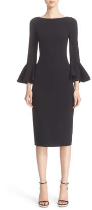 Michael Kors Bell Sleeve Sheath Dress