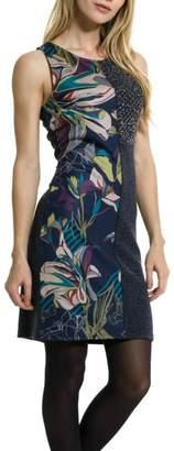 Smash Wear Sleeveless Flowers Dress