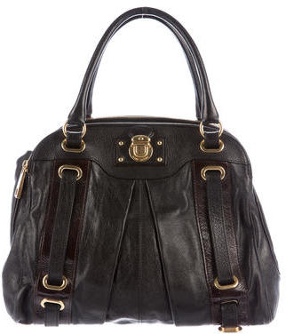 Marc Jacobs Marc Jacobs Leather Hudson Tote