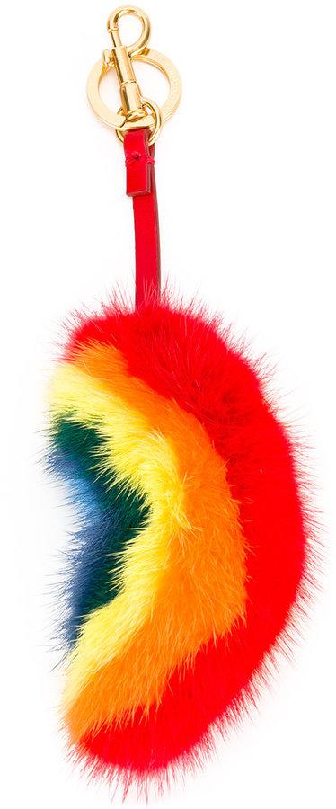 Anya HindmarchAnya Hindmarch rainbow bag charm