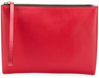 Marni colour block zipped clutch