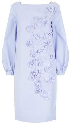 Les Copains Floral Appliqué Dress