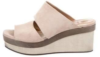 Coclico Suede Wedge Sandals