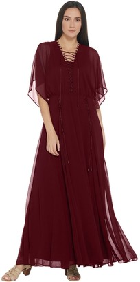 Laurie Felt Boho Chic Maxi Dress