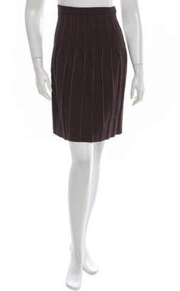 Zac Posen Pleated Skirt